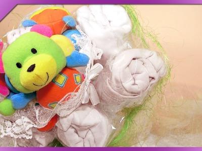 DIY Bukiet na Chrzest. Baptism bouquet (+ENG Annotations) - Na szybko #27