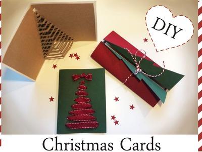 DIY : ❄  Christmas Cards ❄ Kartki świąteczne ❄