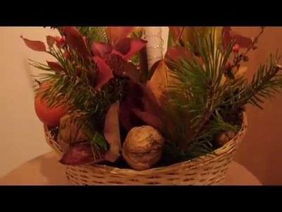Stroik jesienny DIY
