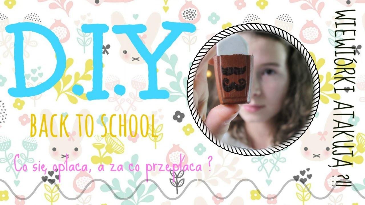 BACK TO SCHOOL   D.I.Y   Opinia produktów
