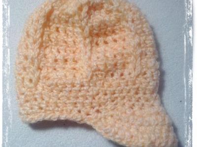 Czapka chrzciny dla chłopczyka :) przeczytaj opis. hat crochet