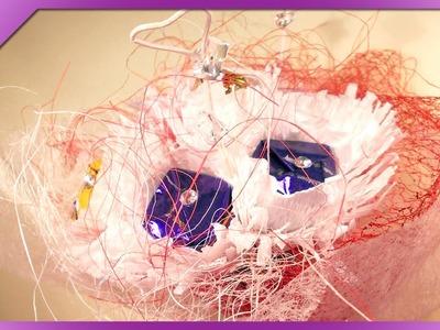 DIY Bukiet z cukierków. Candy bouquet (+ENG Annotations) - Na szybko #22