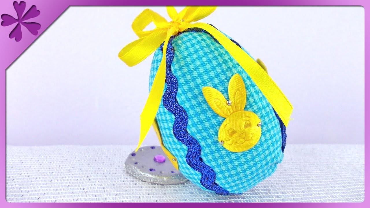 DIY Pisanki z materiału. Fabric Easter Eggs (+ENG Annotations) - Na szybko #72