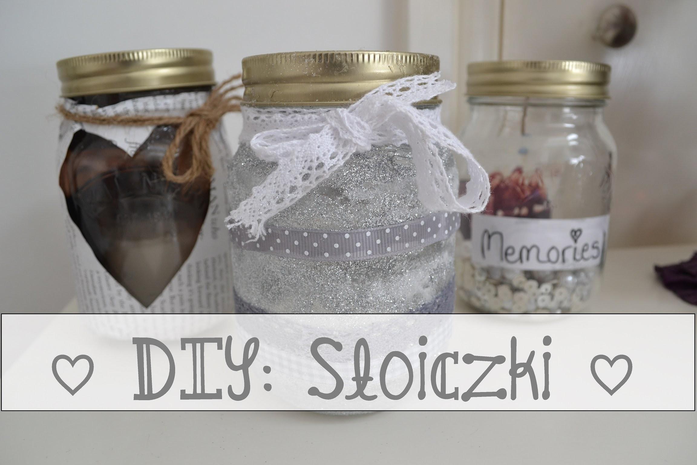 ♡ DIY - Słoiczek ♡