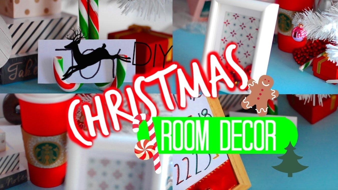 DIY CHRISTMAS ROOM DECOR | DIY ŚWIĄTECZNE DEKORACJE DO POKOJU