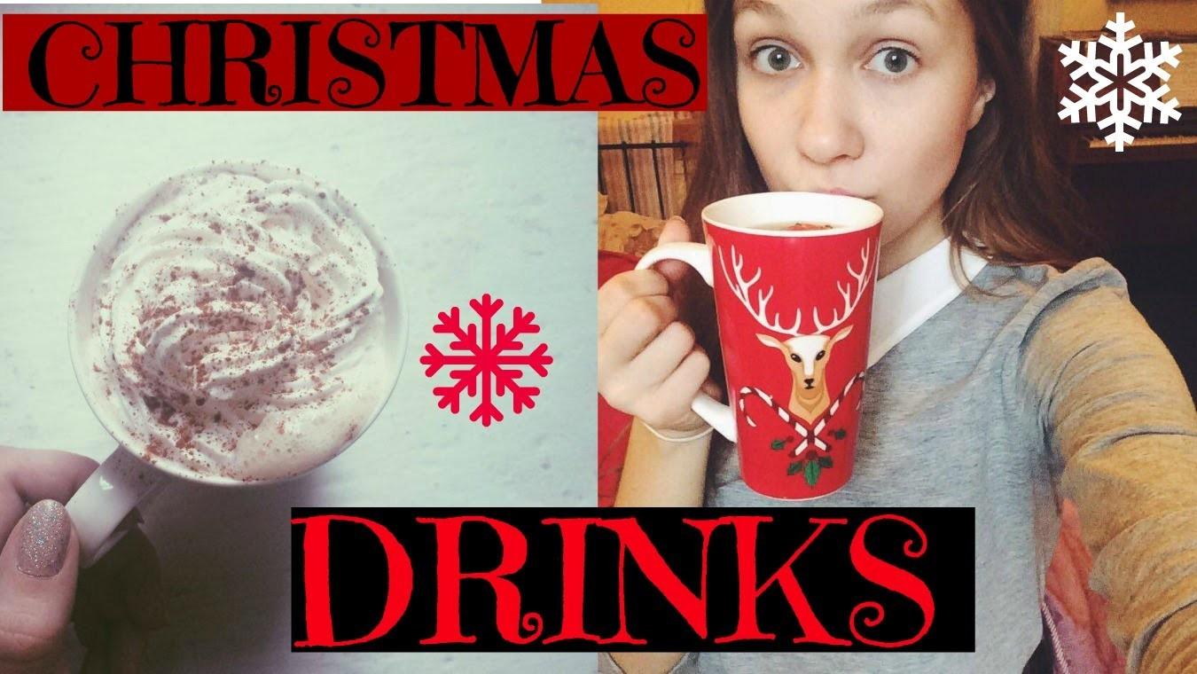 D.I.Y Christmas Drinks ❄️ Świąteczne Napoje