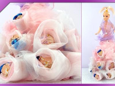 DIY Cukierkowa lalka. Candy doll (+ENG Subtitles) - Na szybko #91