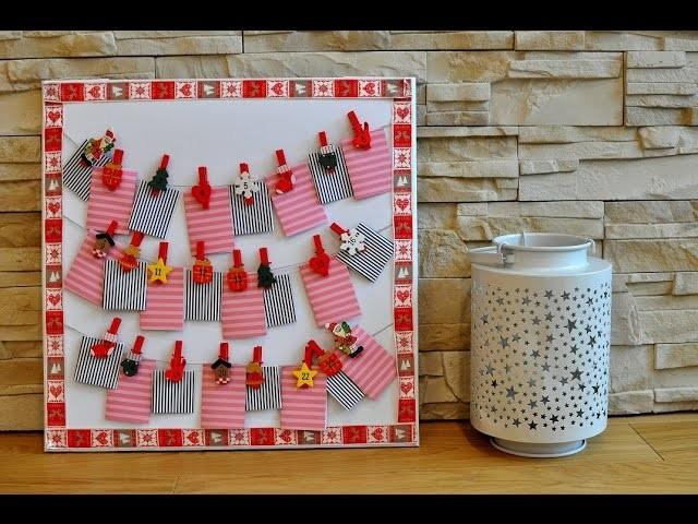 ♥ DIY ♥ prosty i piękny Kalendarz Adwentowy