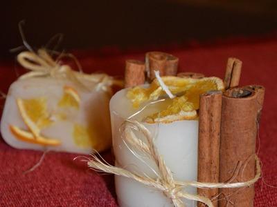 Christmas gift  ♥ świeczka zapachowa  ♥ candle ♥ DIY