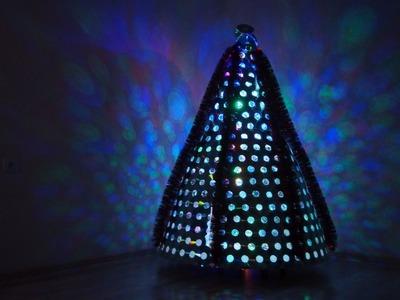 Choinka z płyt CD, CD Christmas Tree, DiY, Zrób to sam