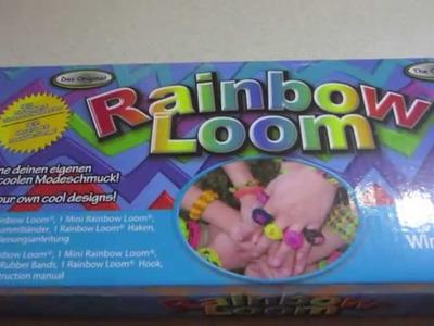 Mój zestaw Rainbow Loom