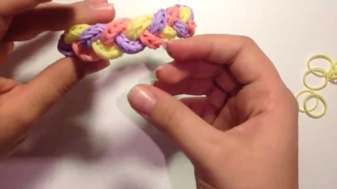 Past Braid | Rainbow Loom