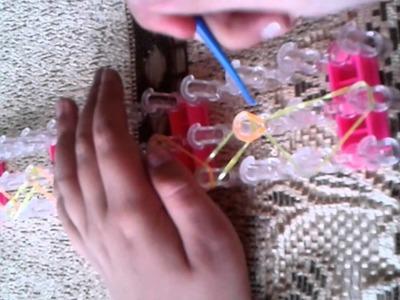 Jak zrobić bransoletki z gumek cz1