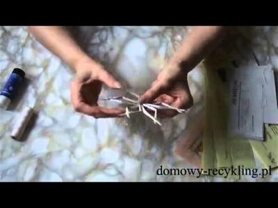 Jak zrobić gwiazdki z wikliny papierowej - ozdoby świąteczne