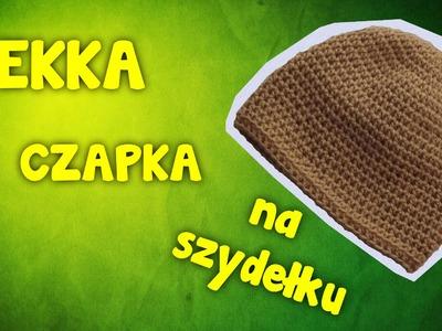 Lekka czapka - Szydełkowanie bez tajemnic
