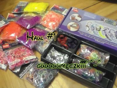Haul gumeczkowy #1 - cosie, zestaw, unboxing i guuuuuumeczki ^-^