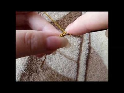 Maranta i szydełko - podwójny łańcuszek (stara wersja)