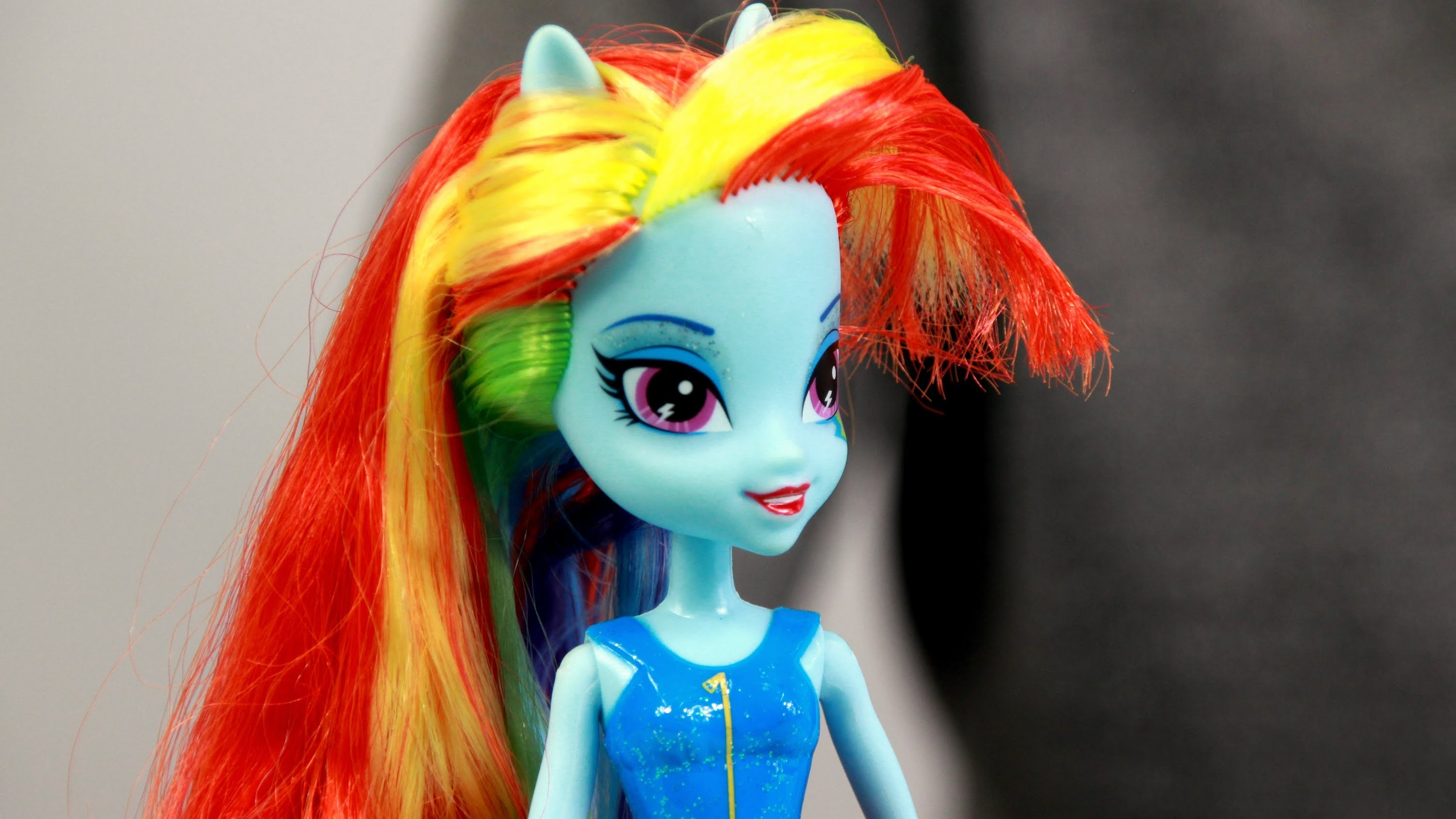 Rainbow Dash Doll. Lalka Rainbow Dash - Equestria Girls - My Little Pony - Hasbro