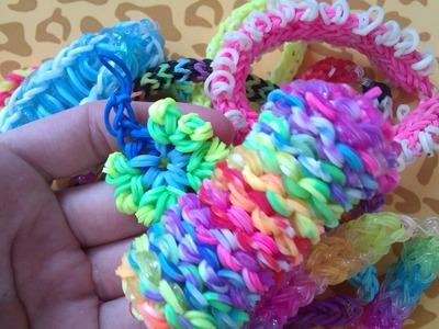 CraftArt - Rzeczy, które zrobiłam z gumek Rainbow Loom