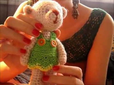 Jak zrobić szydełkową sukienkę dla misia lub lali? - Szydełkowy poradniczek