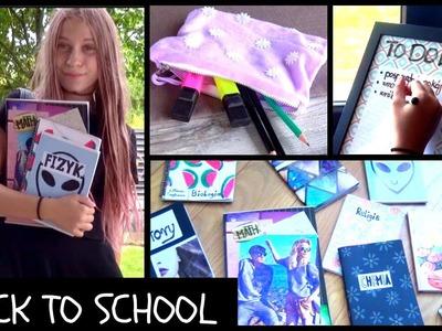 BACK TO SCHOOL DIY ZESZYTY, PIÓRNIK, ORGANIZACJA
