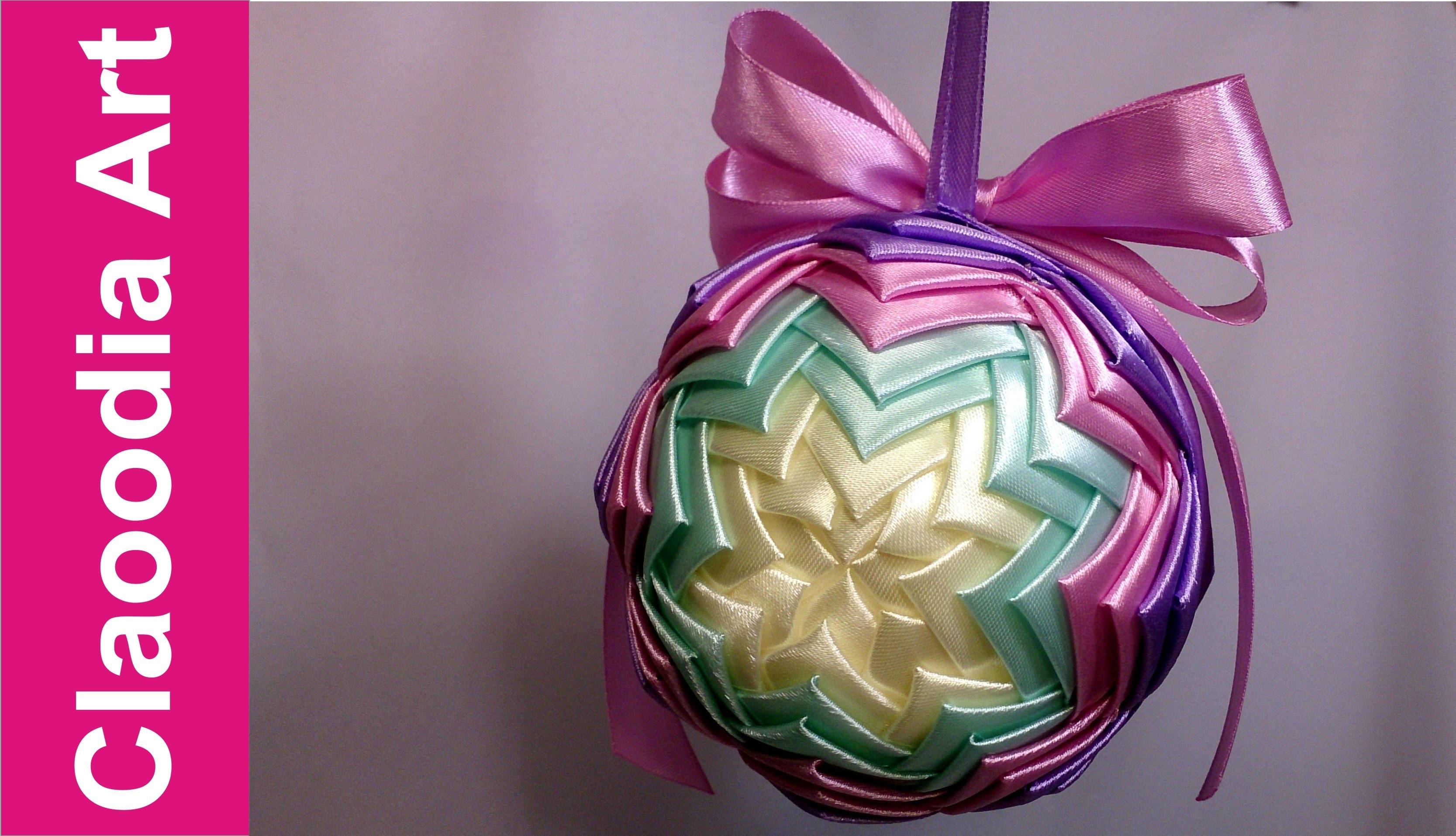 Bombka karczochowa (ribbon bauble)