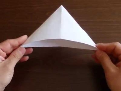 Czapka z papieru - Origami #3 (Paper hat)