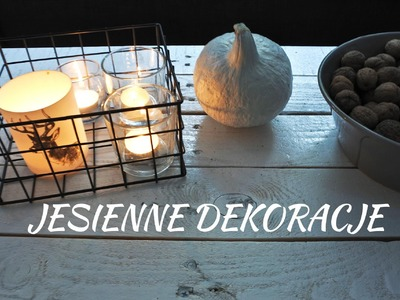 DIY Jesienne Dekoracje | loveandgreatshoes