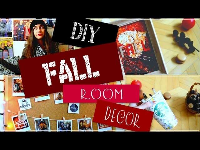 DIY po polsku #3 FALL ROOM DECOR. DEKORACJE NA JESIEŃ | Yoasia