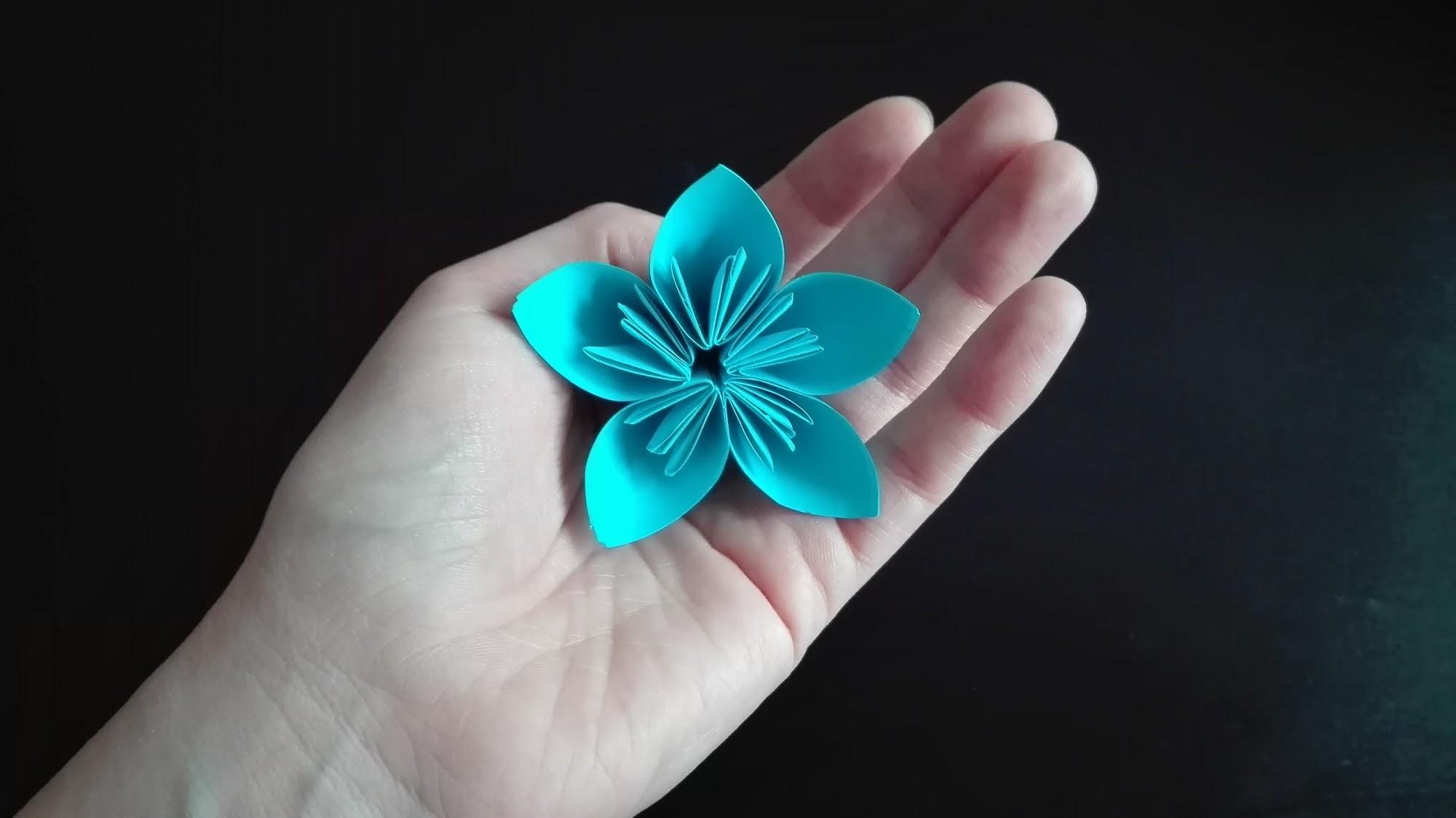 Jak zrobić kwiat kusudama. How to make a kusudama flower