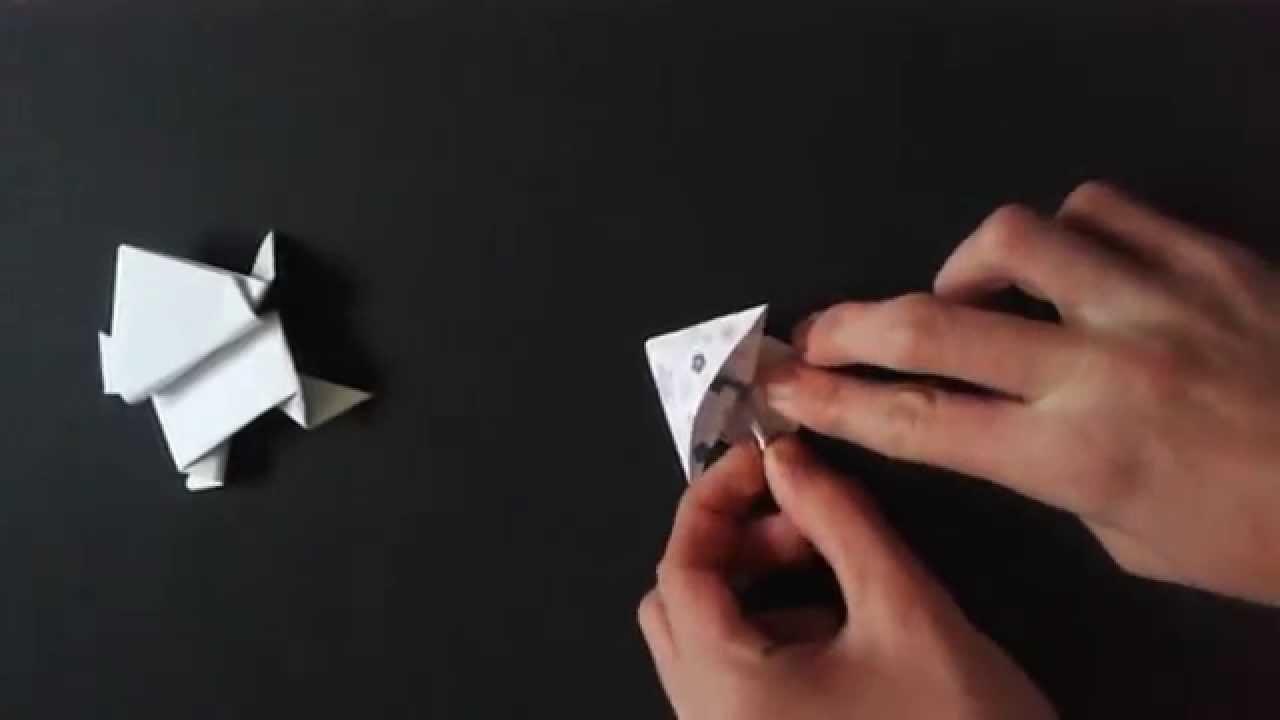 Jak zrobić Żabę origami
