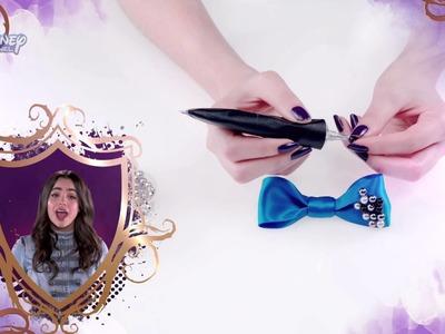 """Zrób to sama: Ozdoba do włosów w stylu Evie. Oglądaj """"Następców"""" tylko w Disney Channel!"""