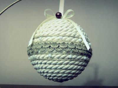 Bombka ze sznurka #2