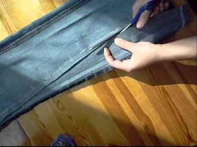 Jak zwęzić nogawki w spodniach