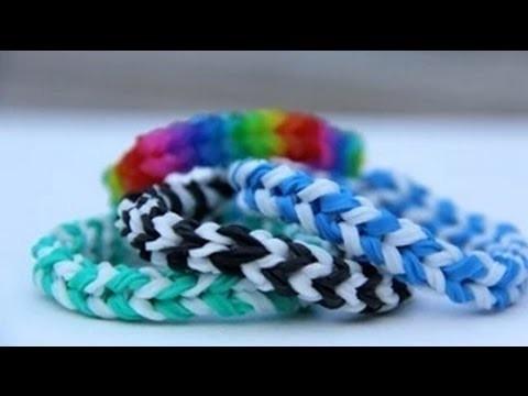 Rainbow Loom® Polska - Bransoletka ABC
