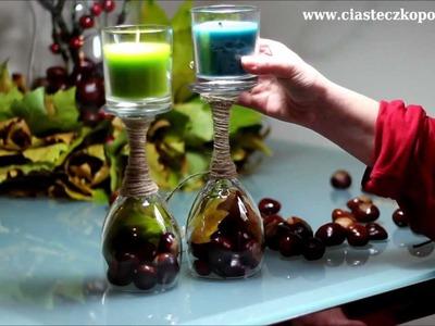 Domowe DIY - łatwe dekoracje jesienne