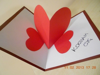 Jak zrobić kartkę Walentynkową