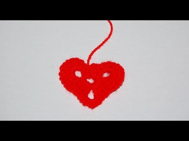 Walentynkowe serduszko na szydełku - jak zrobić ?
