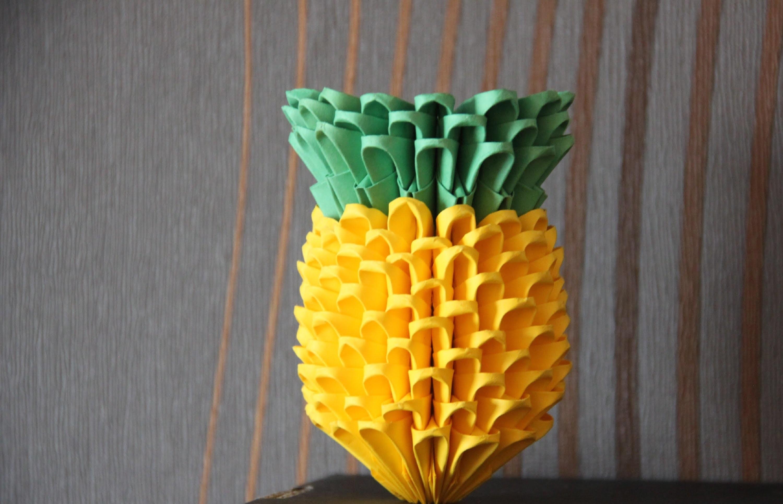 #6 Ananas - Origami modułowe