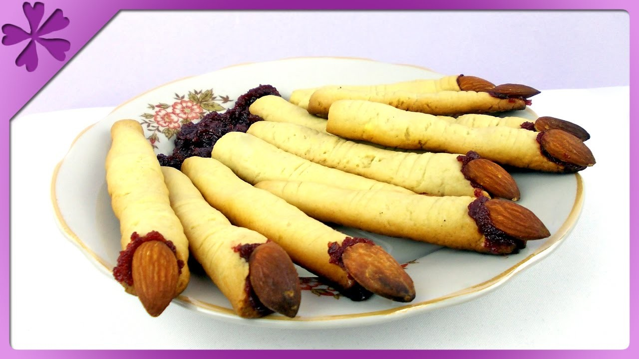 DIY Palce czarownicy, ciastka. Witch's fingers cookies (+ENG Subtitles) - Na szybko #145