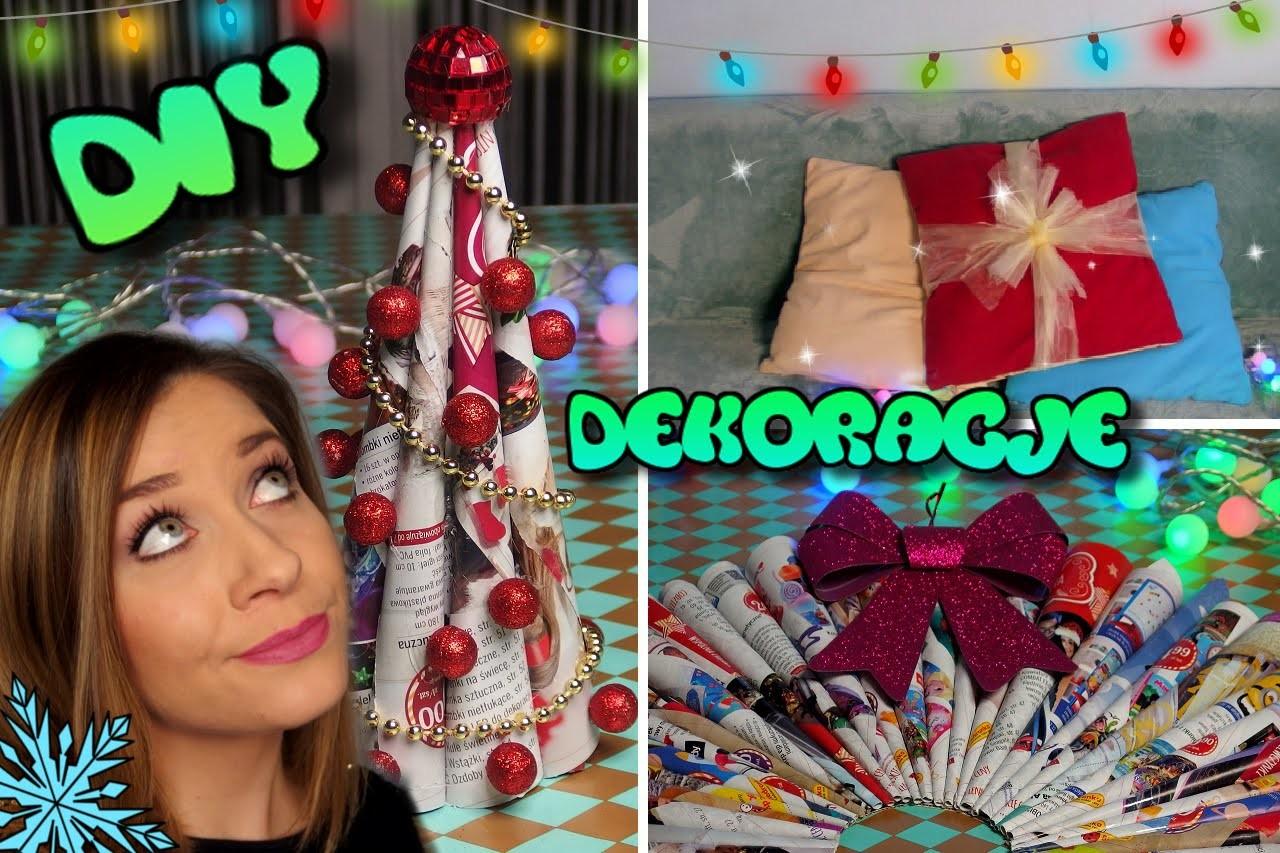 DIY Dekoracje Świąteczne Holidays Decor ❤ SoKasia ☆ TheAmmisu