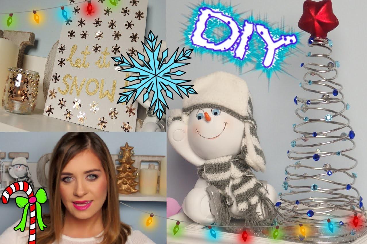 DIY Ozdoby Świąteczne Dekoracje do pokoju ❤ Room decor TheAmmisu