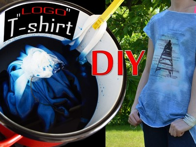 Zrób to sama! Jak zrobić swój własny T-SHIRT. DIY! How to make your own T-SHIRT.