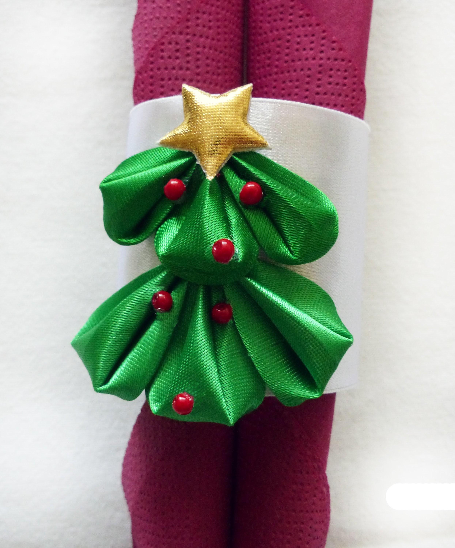 DIY, christmas, xmas decoration, tie napkin holder, serwetnik, święta, boże narodzenie, dekoracje,