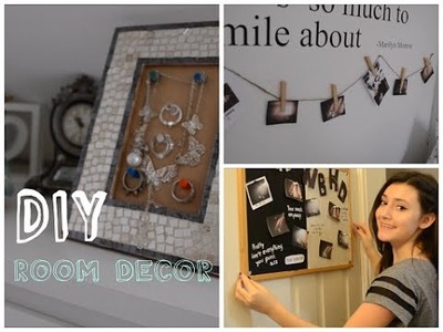 DIY - Room Decor.  Dekoracje do pokoju