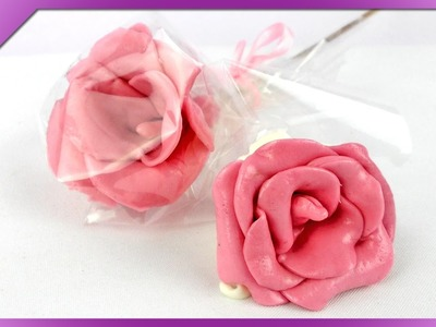 DIY Róże z gum Mamba. Maoam chewy sweets rose (+ENG Subtitles) - Na szybko #114