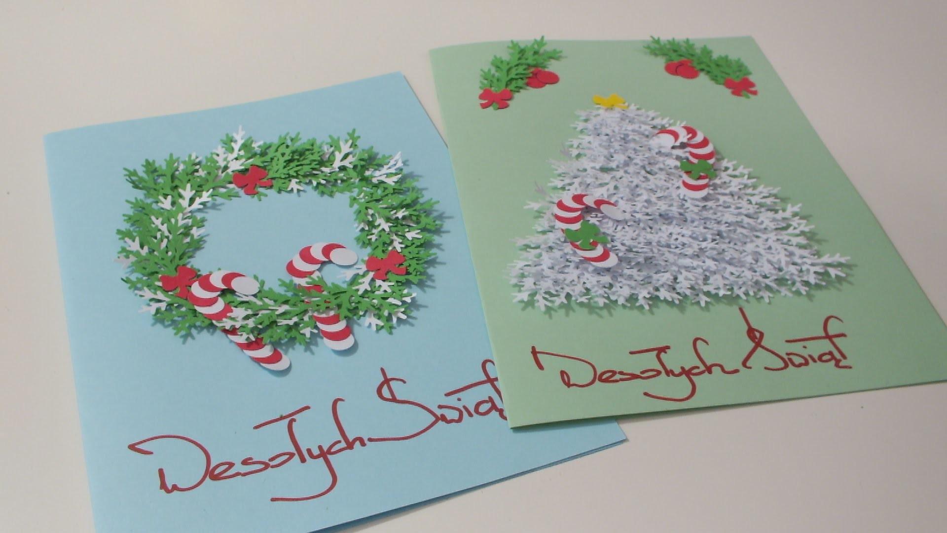 Idą Święta #robimy pocztówki DIY