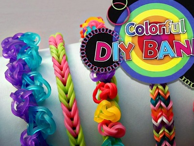 Colorful Diy Bands, Gumki do robienia biżuterii