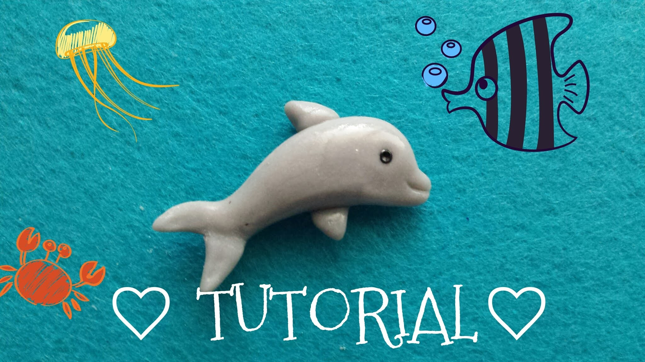 Delfin ❀♡♥TUTORIAL♥♡❀
