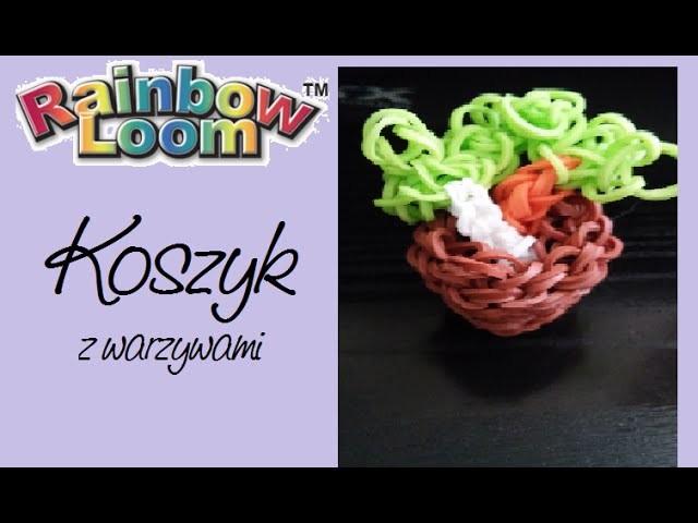 TUTORIAL - Koszyk z warzywami Rainbow Loom